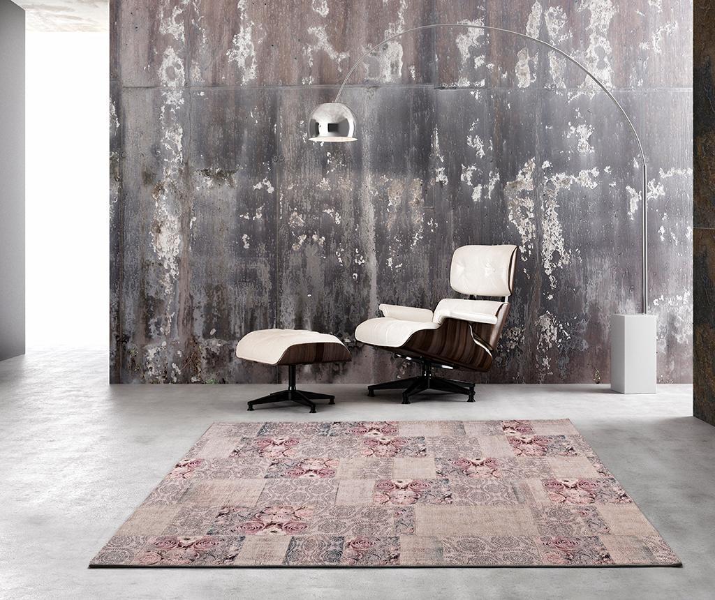 Covor Alice Roses Grey 160x230 cm vivre.ro