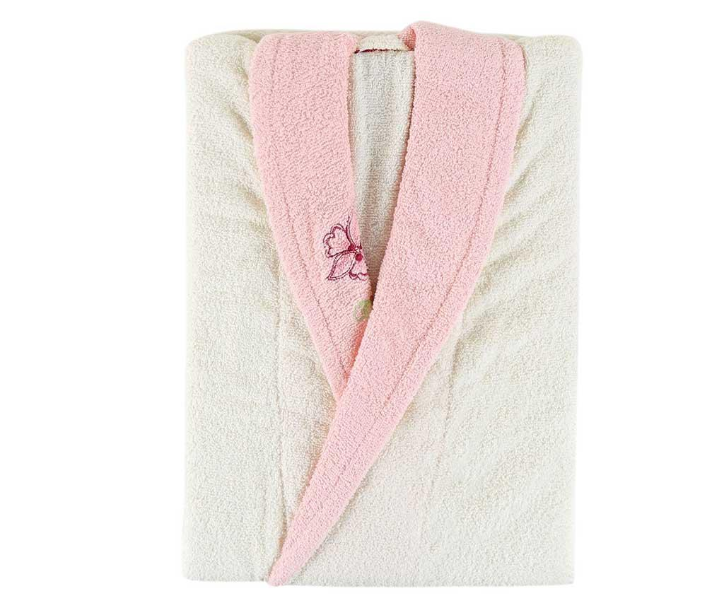 Halat de baie dama Daily Ecru Pink S/M