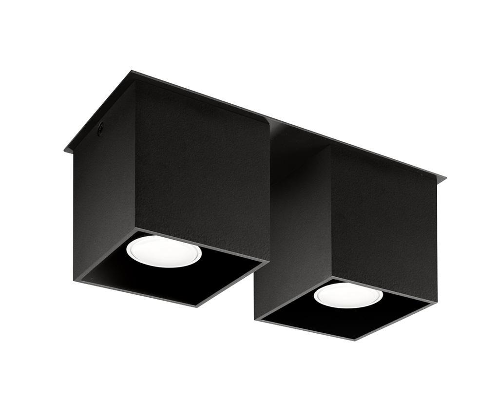 Plafoniera Geo Black - Nice Lamps, Negru imagine