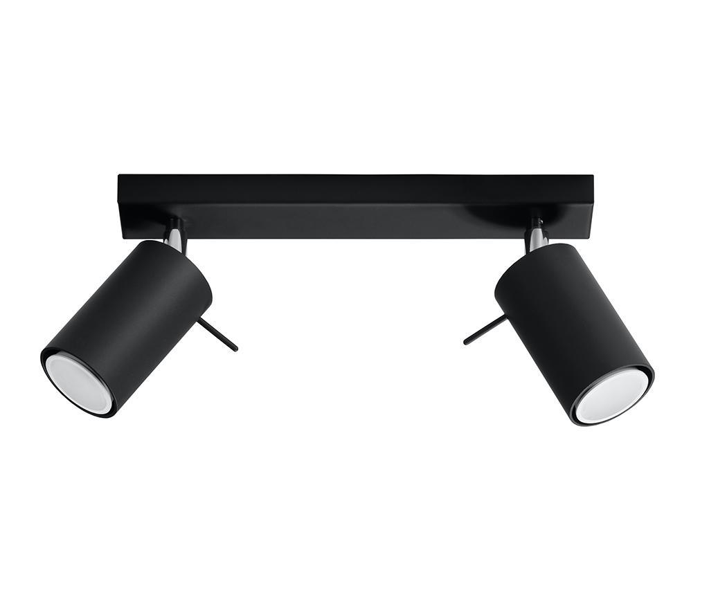 Lustra Etna Two Black - Nice Lamps, Negru imagine