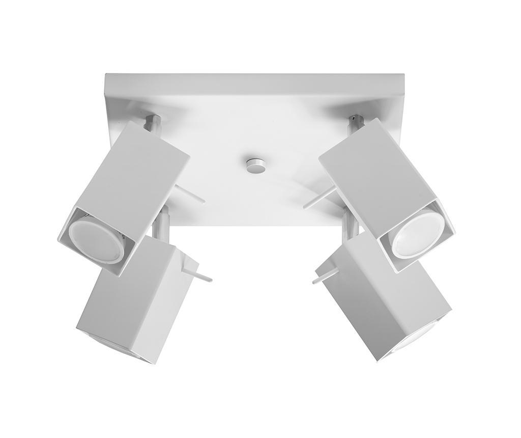 Plafoniera Toscana Four White - Nice Lamps, Alb imagine