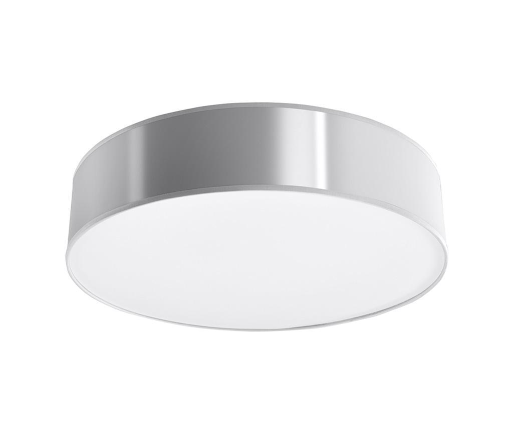 Plafoniera Atis Wide Grey - Nice Lamps, Gri & Argintiu imagine