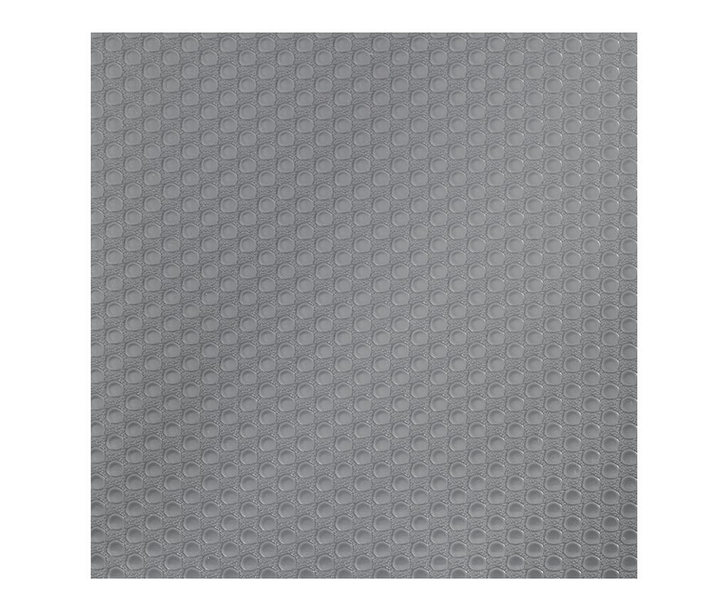 Folie antialunecare Bruce Circle Grey 50x150 cm - Wenko imagine