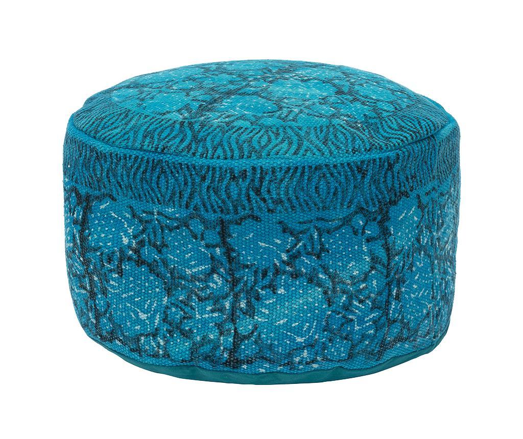 Puf Dali Fantasia Round Blue vivre.ro