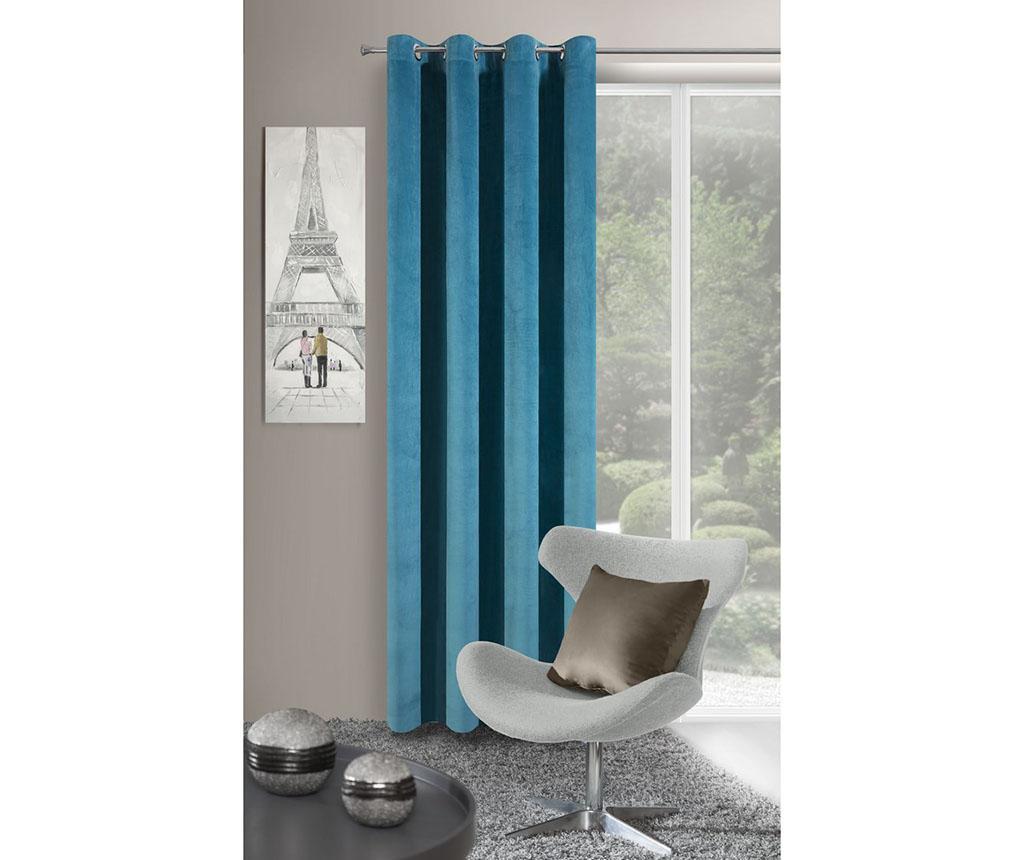Draperie Velvet Turquoise 140x250 cm