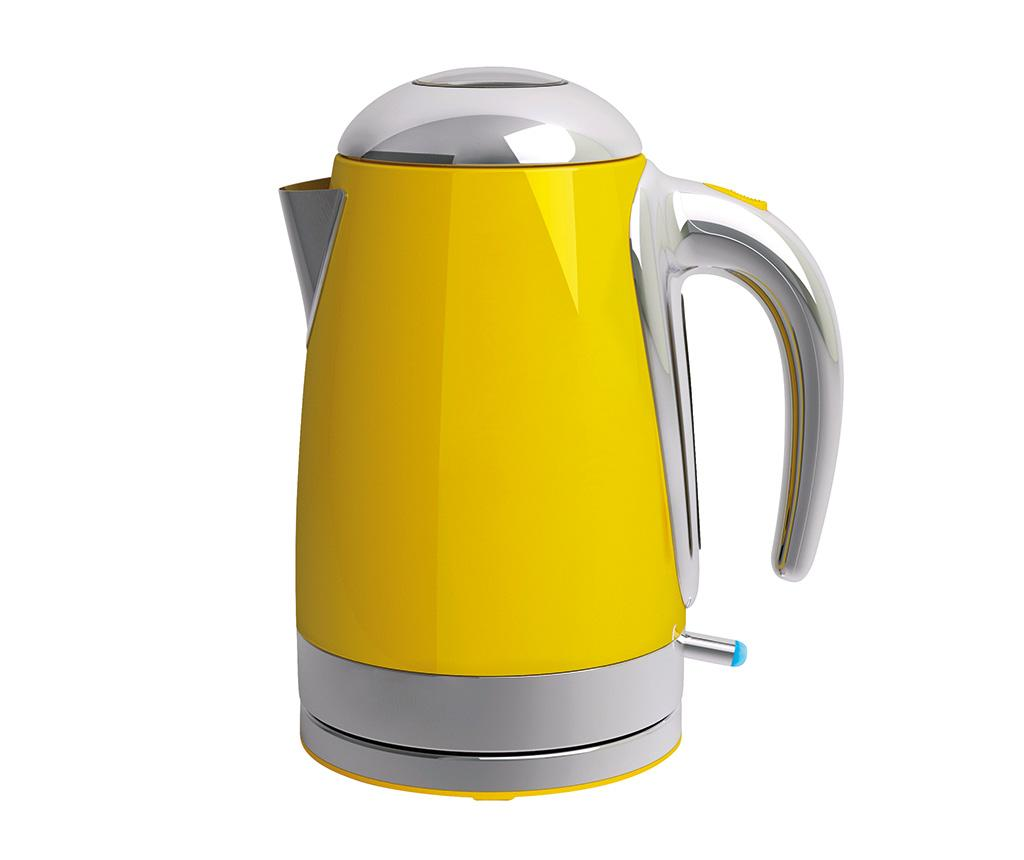 Fierbator electric Tix Yellow 1.75 L - Viceversa, Galben & Auriu poza