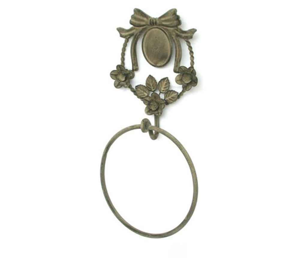 Suport pentru prosoape Bicchiere Ring - Bolzonella, Galben & Auriu