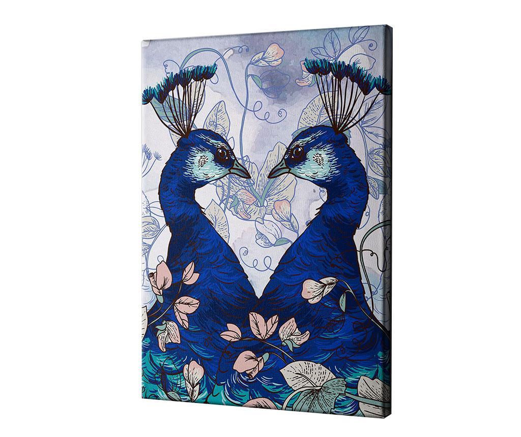 Imagine Tablou Peacock 40x60 Cm