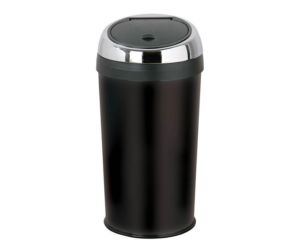 Cos de gunoi cu capac Touch Black 30 L vivre.ro