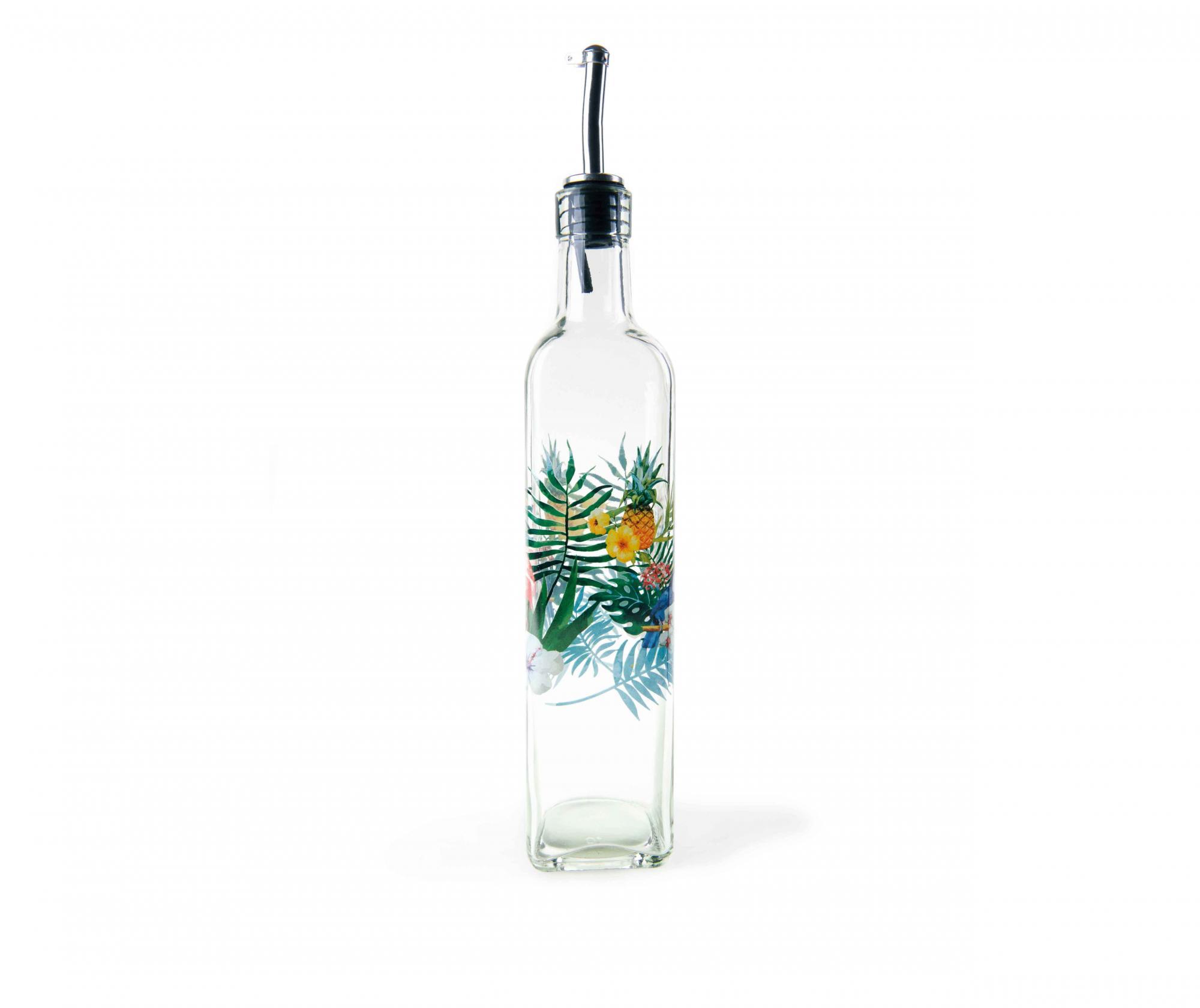 Recipient pentru ulei sau otet Tropical Design 473 ml - Excelsa