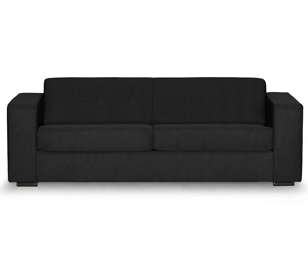 Třímístná pohovka Ava Bladen Black