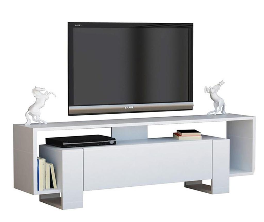 Comoda TV Mery White - Woody Fashion, Alb imagine