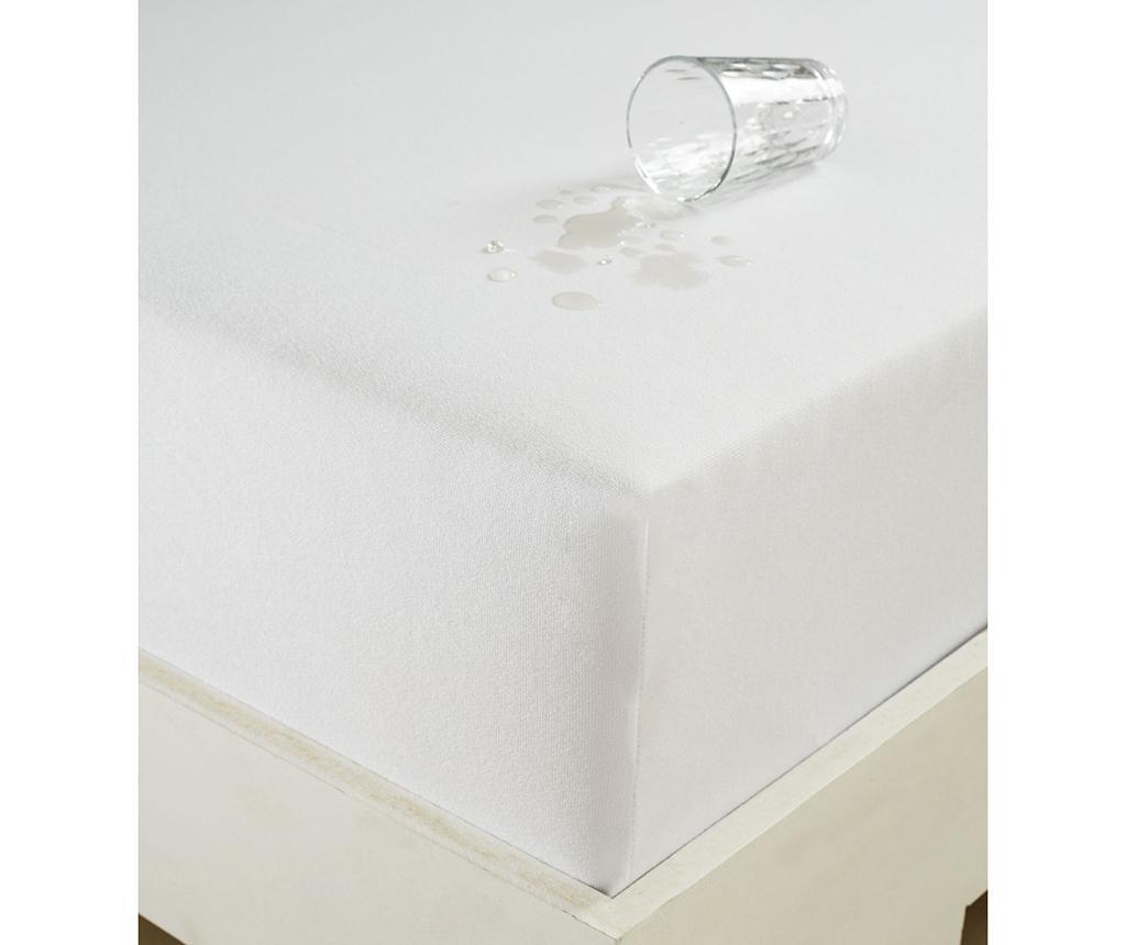 Protectie impermeabila pentru saltea Daisy 180x200 cm - Eponj Home, Alb imagine
