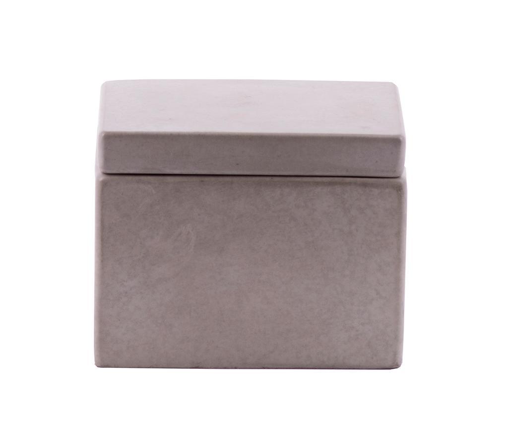 Krabice s víkem Cubic Concrete
