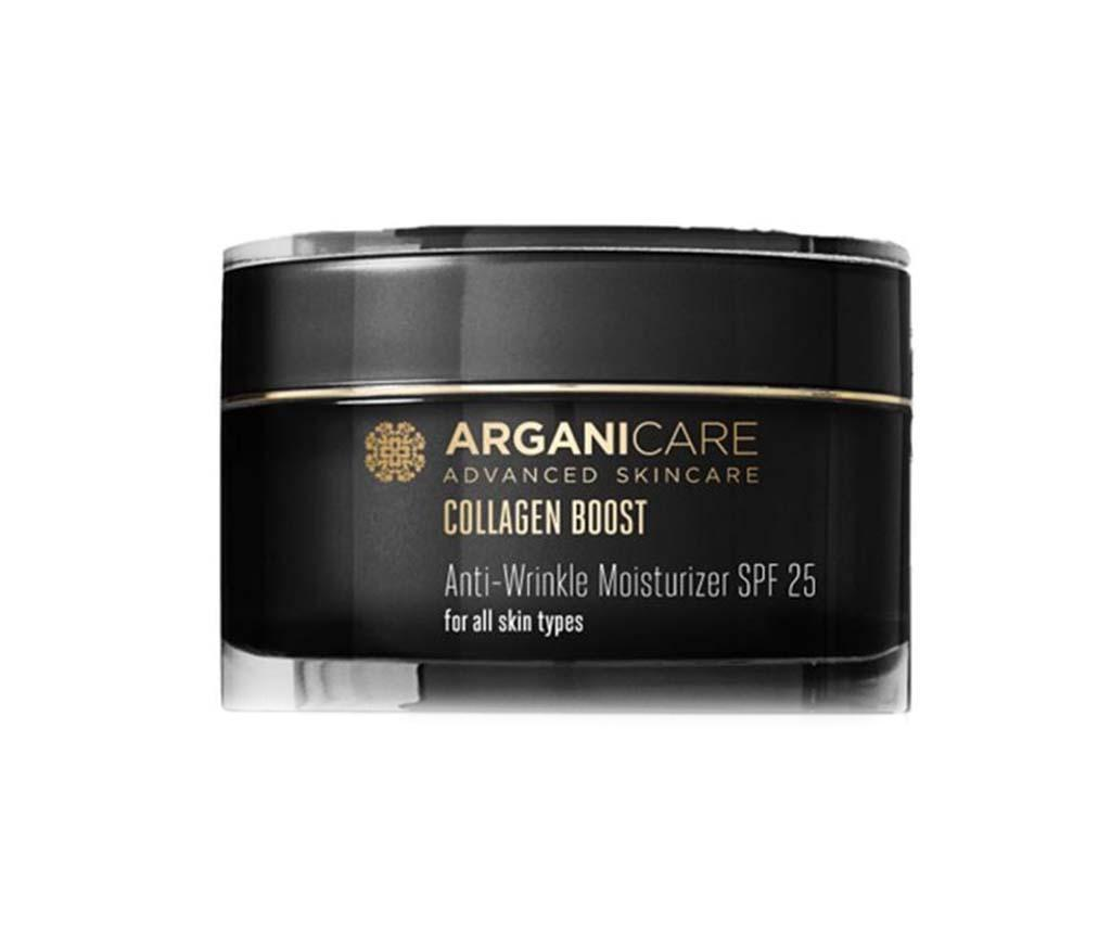 Crema antirid cu protectie SPF25 Perfecting Collagen 50 ml - Arganicare, Negru imagine