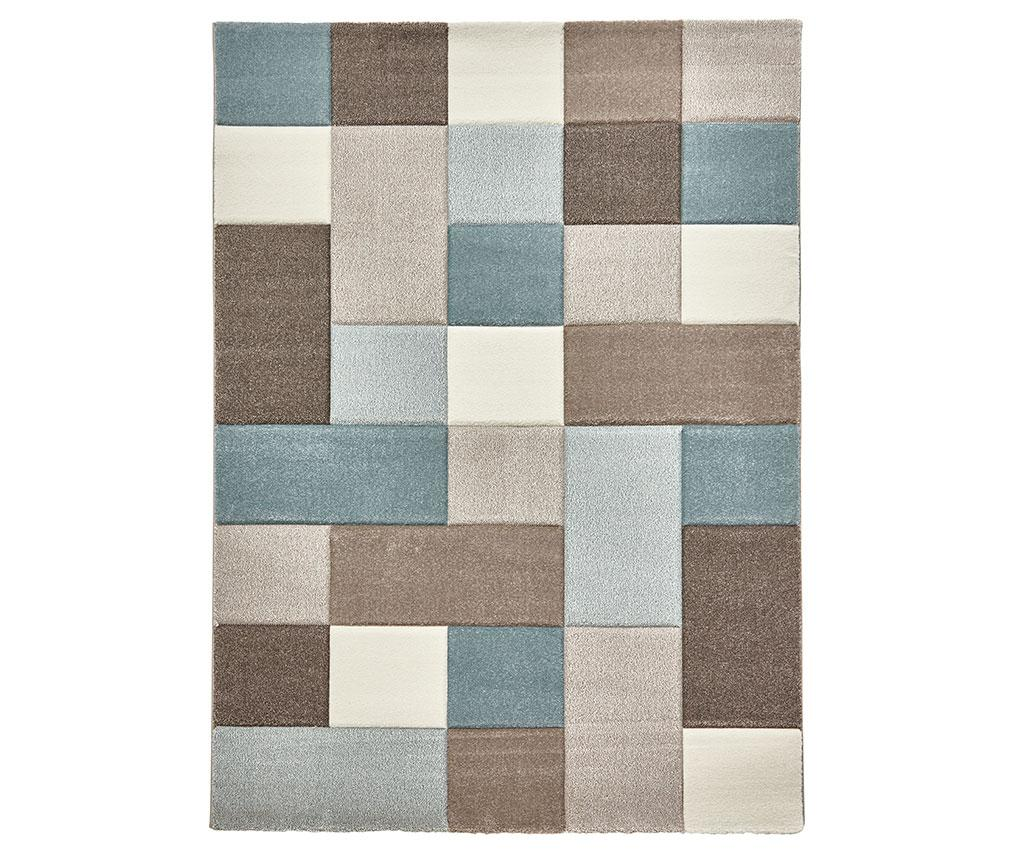 Covor Brooklyn Sky Beige Blue 160x220 cm - Think Rugs, Multicolor imagine