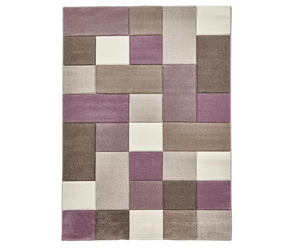 Covor Brooklyn Sky Purple 120x170 cm - Think Rugs, Crem imagine