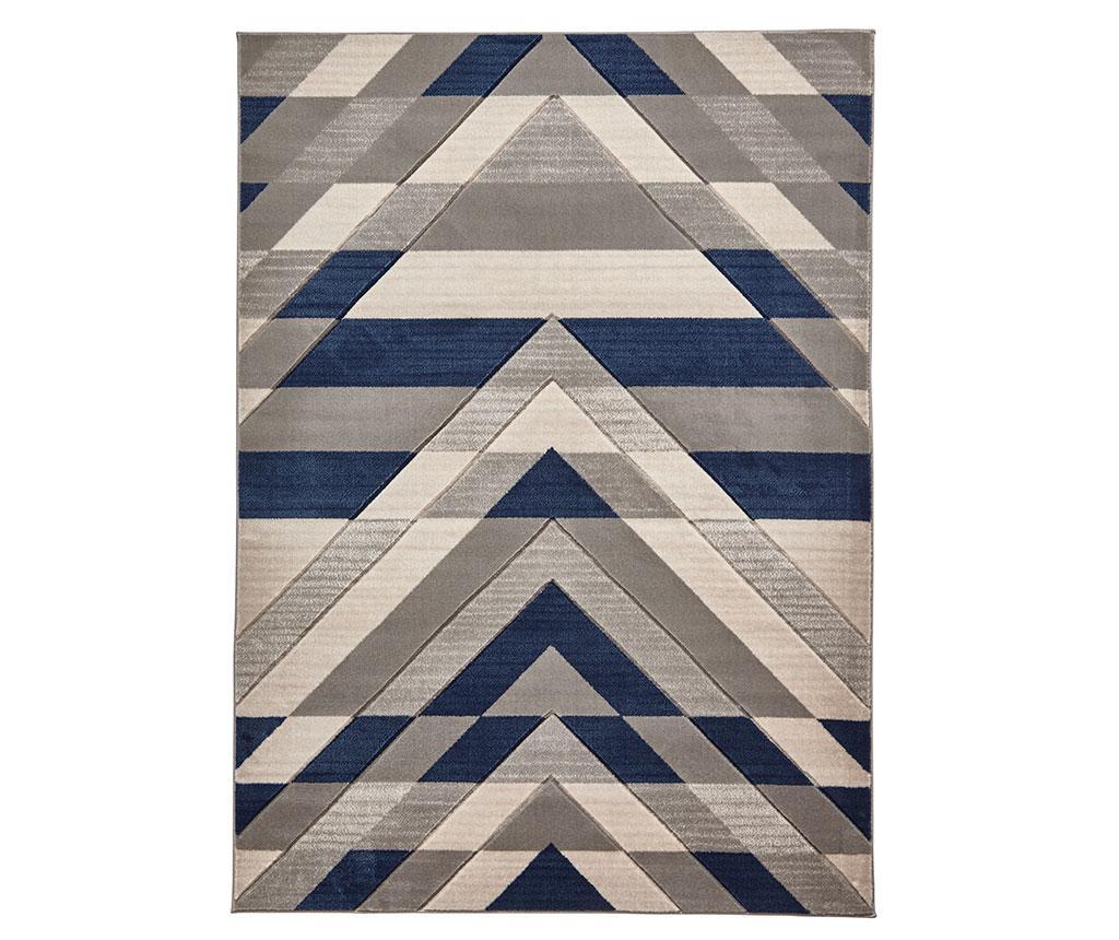 Covor Pembroke Grey Blue 80x150 cm - Think Rugs, Albastru,Gri & Argintiu poza