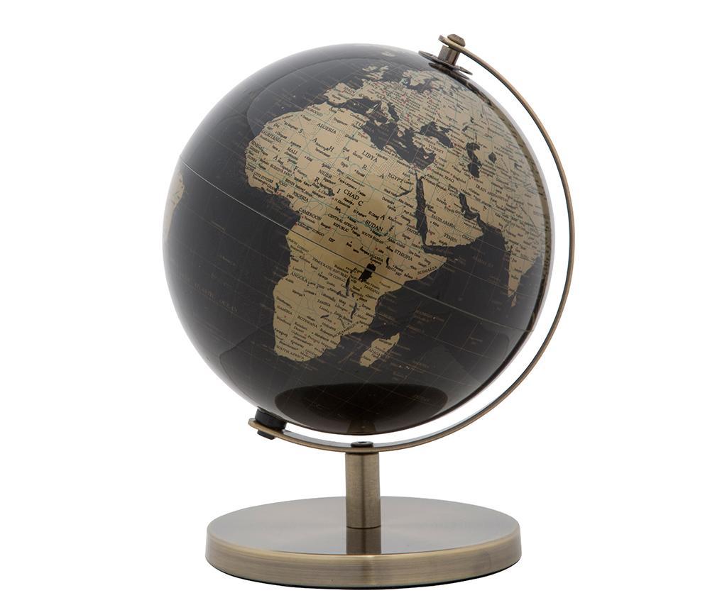 Decoratiune Globe Black Gold