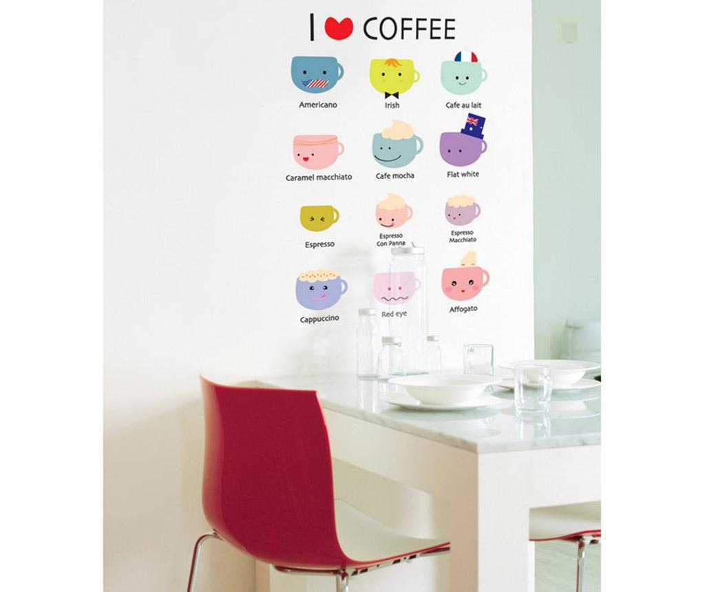 Set 12 stickere Cups for Coffee