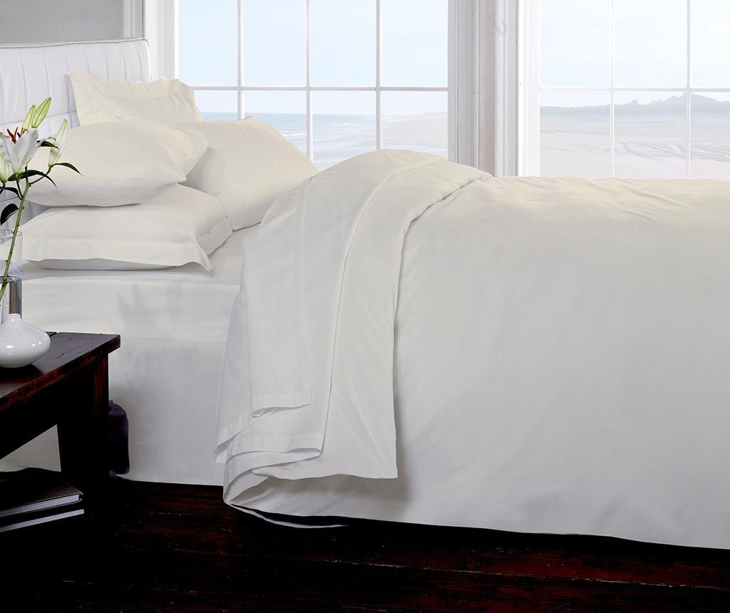 Cearsaf de pat cu elastic Brighton Hill Cream 140x190 cm imagine