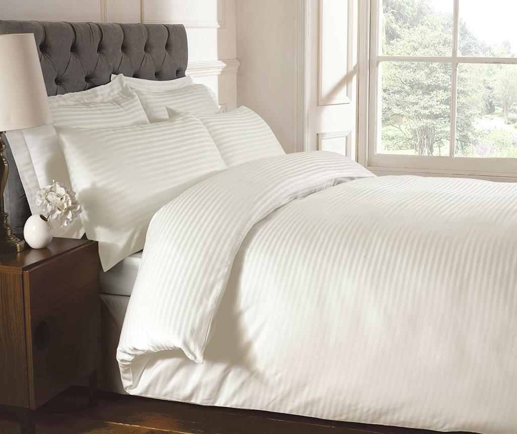 Cearsaf de pat cu elastic Brighton Hill Premium Cream 140x190 cm