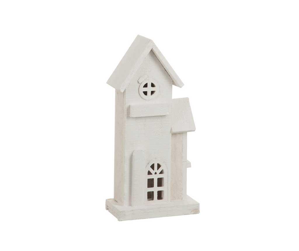 Decoratiune luminoasa House White imagine