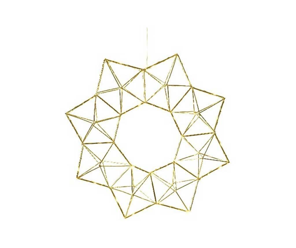 Decoratiune luminoasa suspendabila Edge Brass imagine
