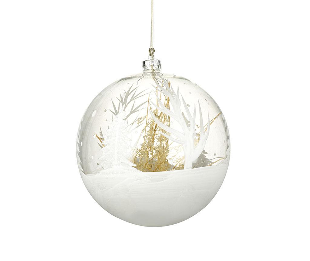 Glob decorativ luminos Winter Landscape imagine