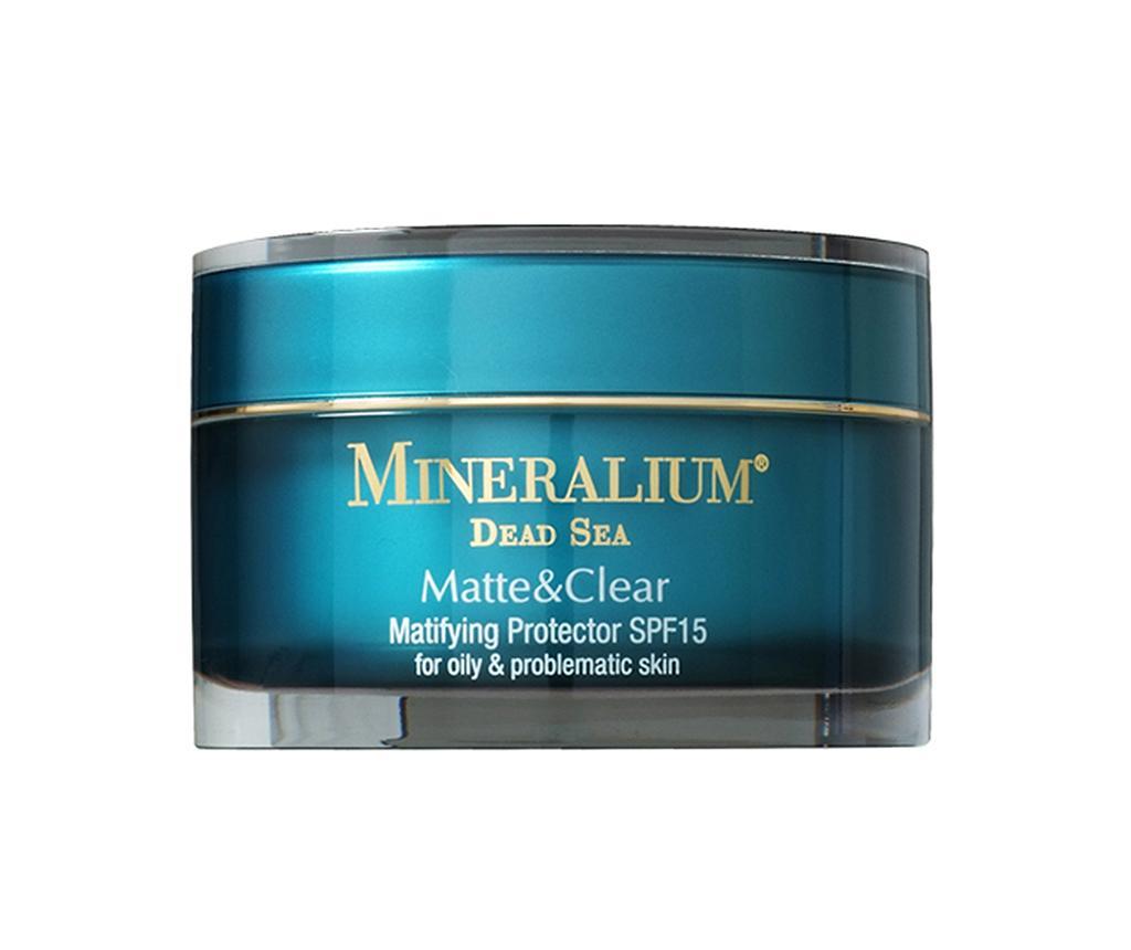 Crema hidratanta pentru fata cu protectie UV Mineraliul Matte & Clear 50 ml
