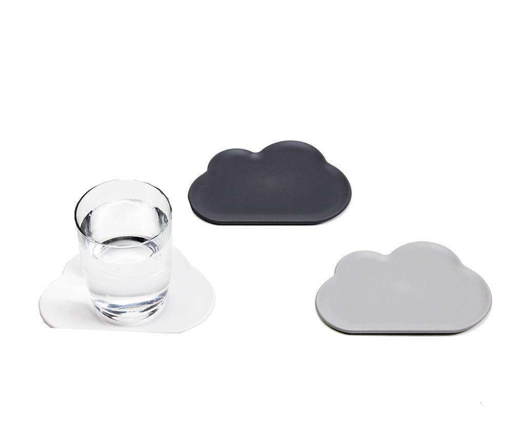 Set 6 coastere Light Cloud imagine