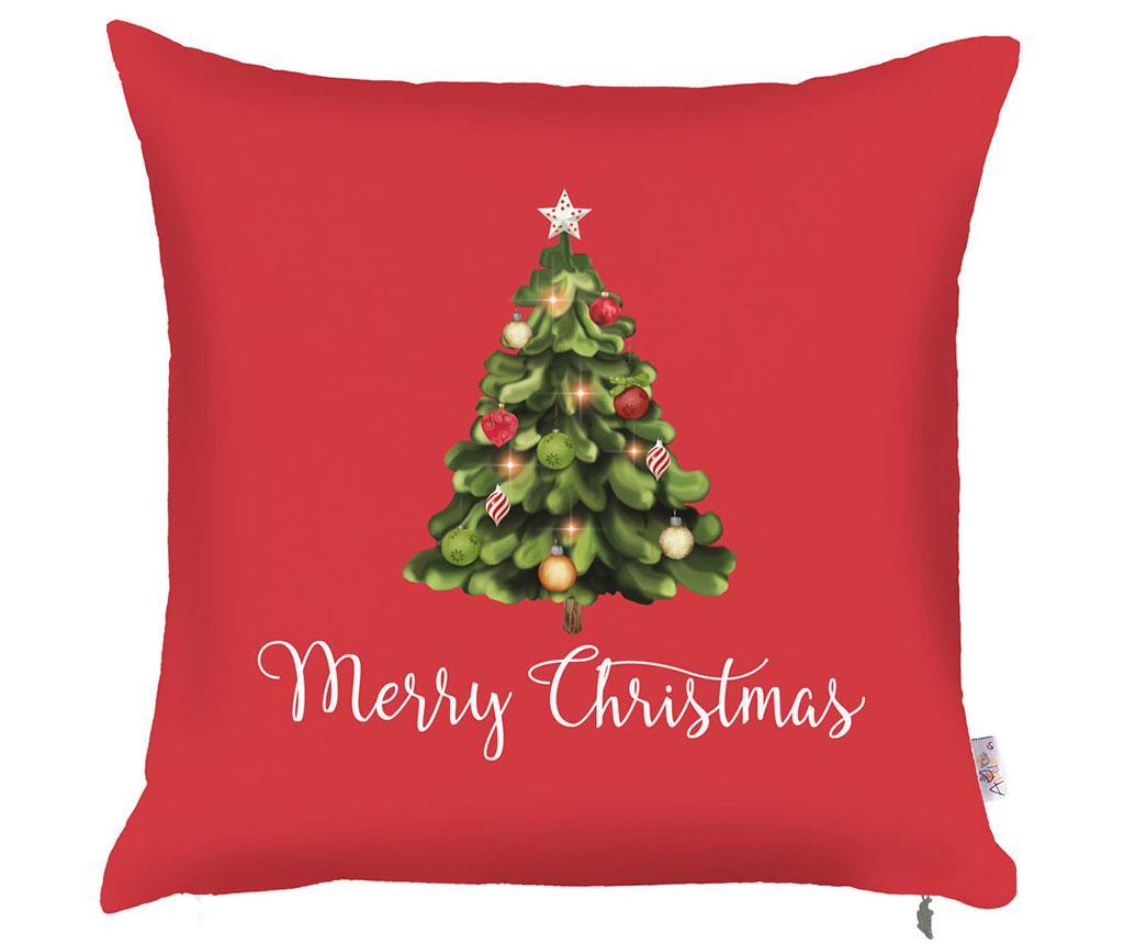 Fata de perna Merry Christmas Tree 43x43 cm