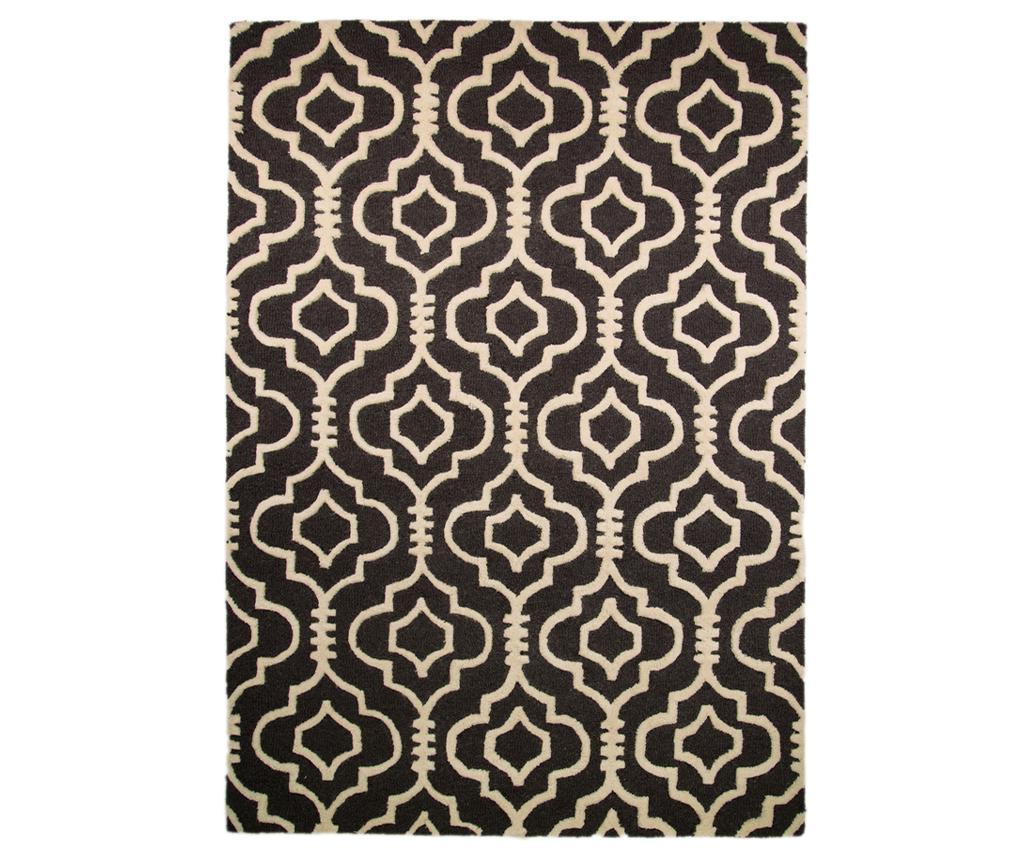 Covor Morocco 160x230cm - Flair Rugs, Negru imagine