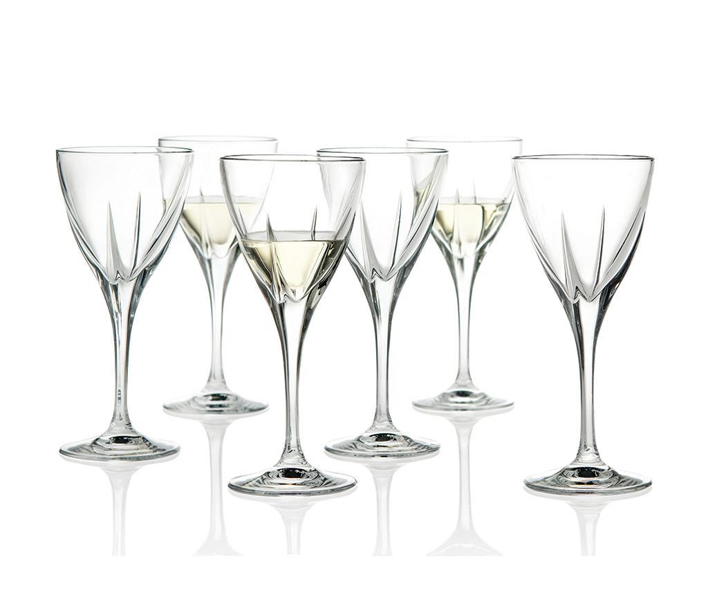 Set 6 pahare pentru vin Fusion 210 ml imagine