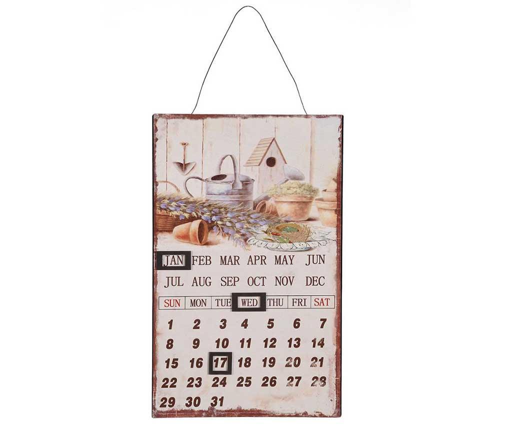 Calendar de perete Monat - Ambiente Haus, Multicolor imagine