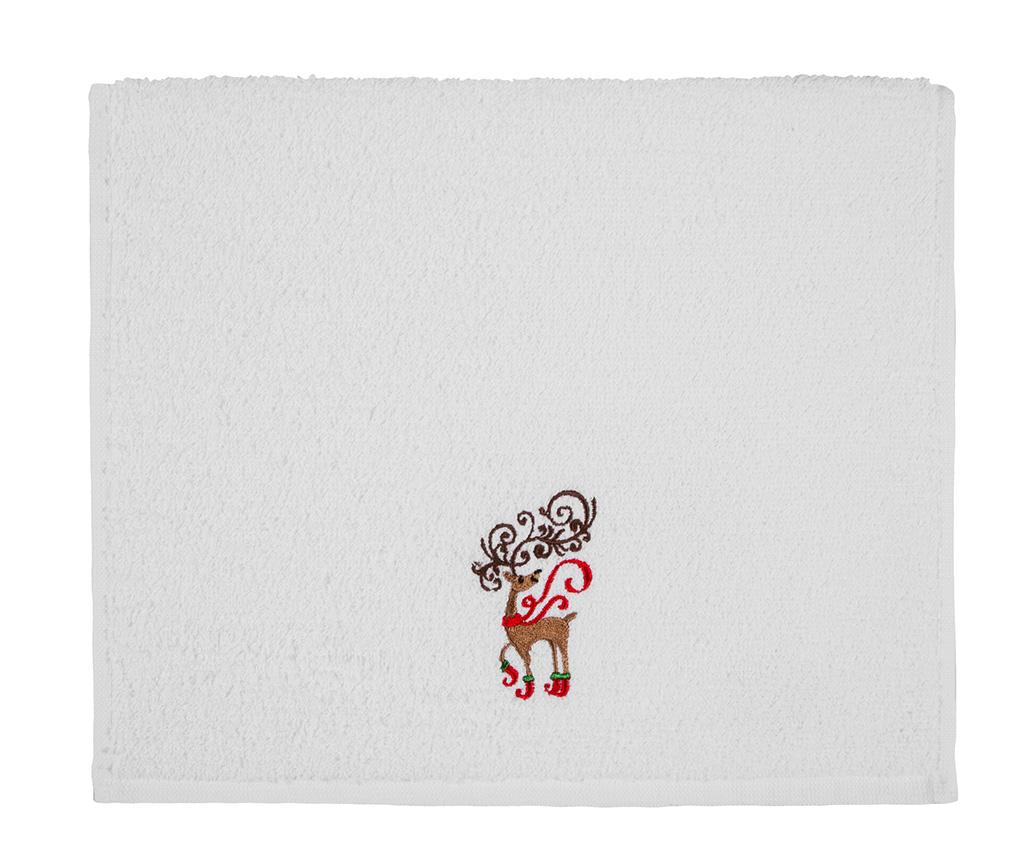 Prosop de baie Christmas Reindeer 30x50 cm
