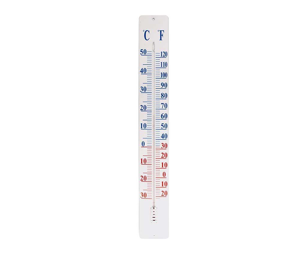 Termometru pentru exterior Gaige - Esschert Design, Alb imagine