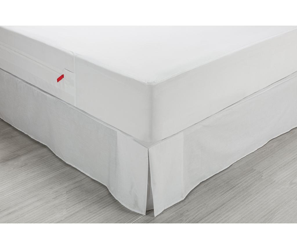Husa impermeabila pentru saltea Anti Bed Bugs 160x190 cm - Pikolin, Alb imagine