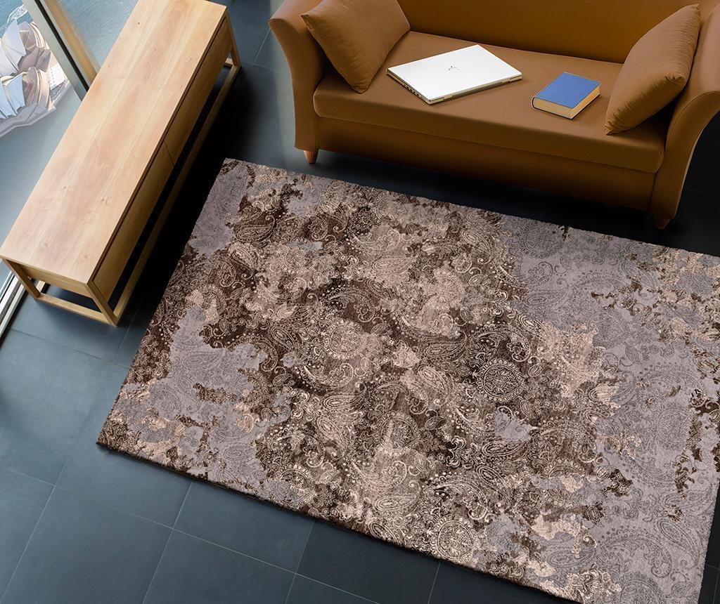 Covor Arabela Brown 120x170 cm - Universal XXI, Gri & Argintiu,Maro imagine