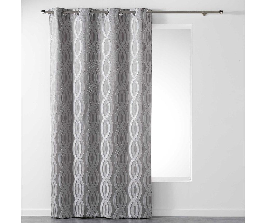 Draperie Miriade Grey 140x260 cm imagine