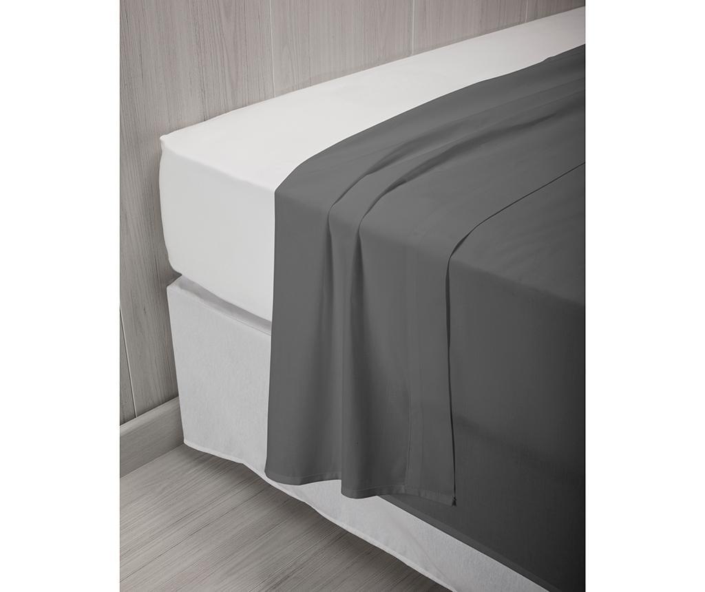 Cearsaf de pat Percale Quality Grey 260x260 cm