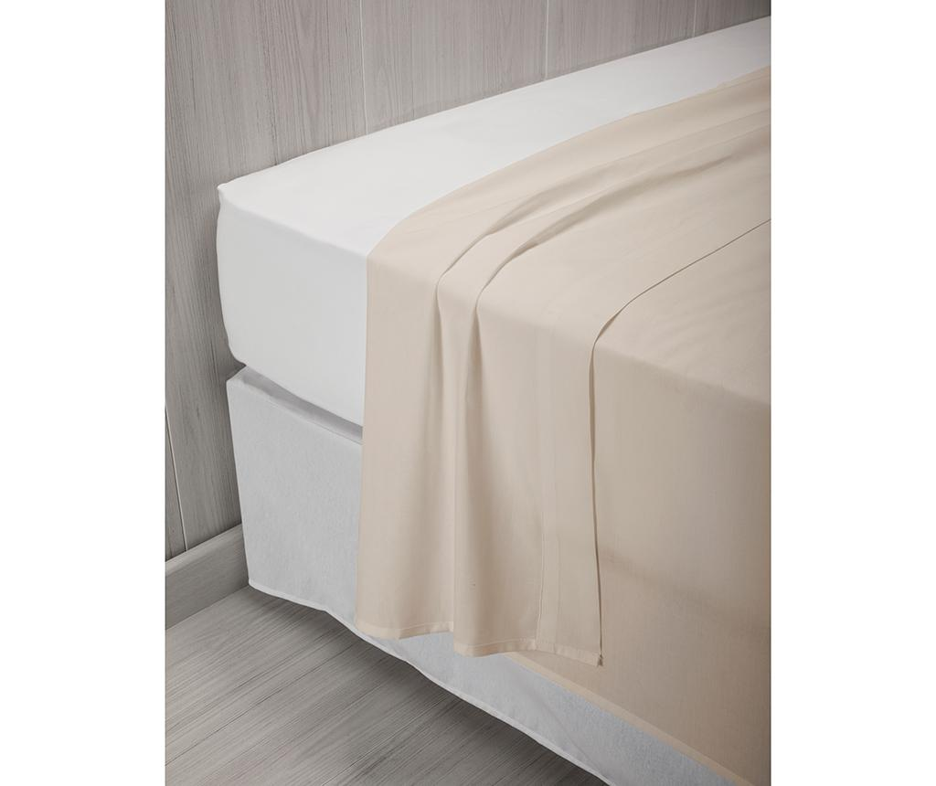 Cearsaf de pat Percale Quality Natural 240x260 cm