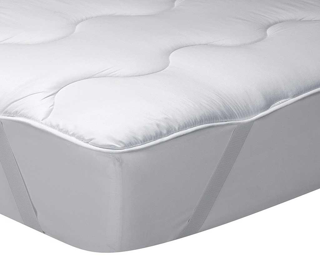 Saltea aditionala Topper Classic Blanc Silk Touch 160x190 cm