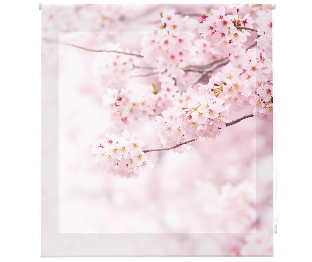 Jaluzea tip rulou Cherry Blossom 160x180 cm - Blindecor, Roz imagine