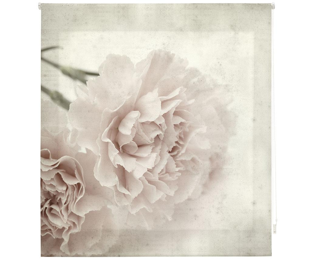 Jaluzea tip rulou Sepia Bloom 160x180 cm imagine