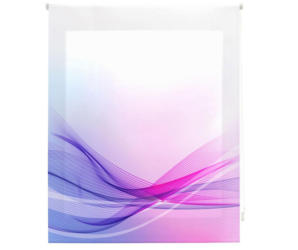 Jaluzea tip rulou Vibes 140x180 cm - Blindecor, Mov,Roz imagine