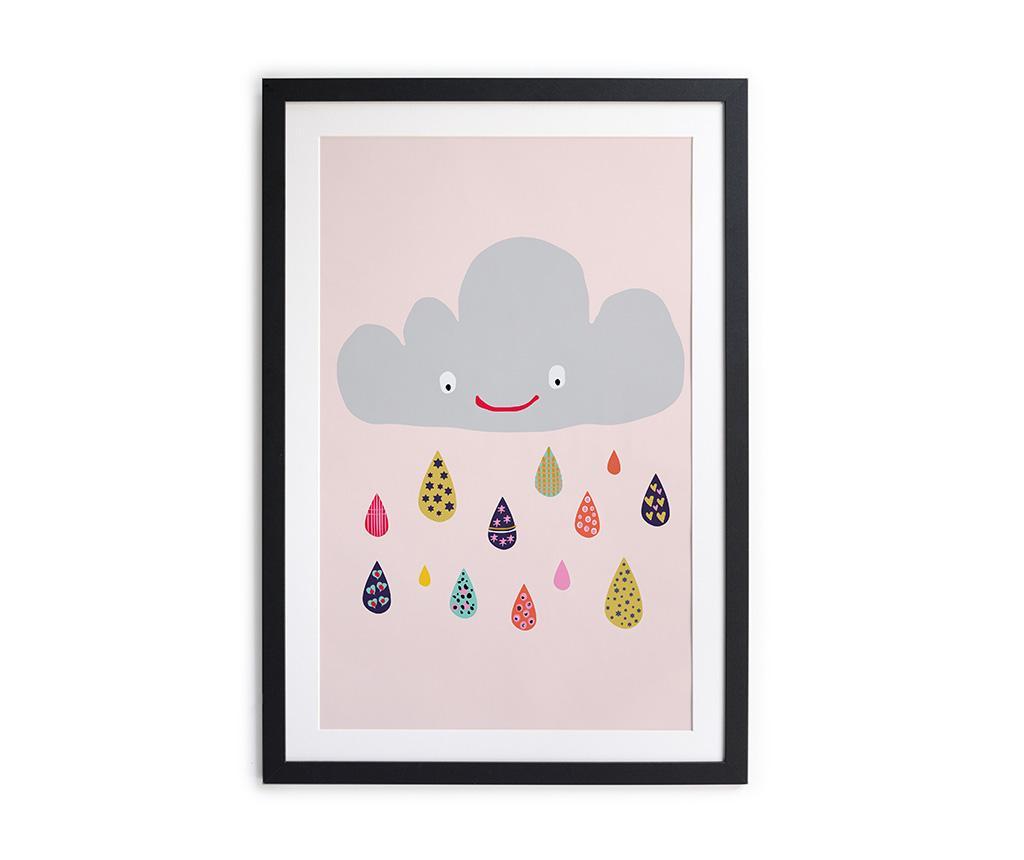 Tablou Joyful Rain 40x60 cm