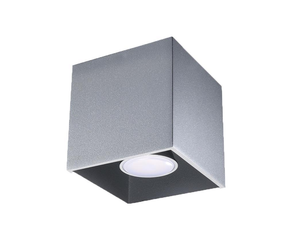 Plafoniera Geo Grey - Nice Lamps, Gri & Argintiu imagine