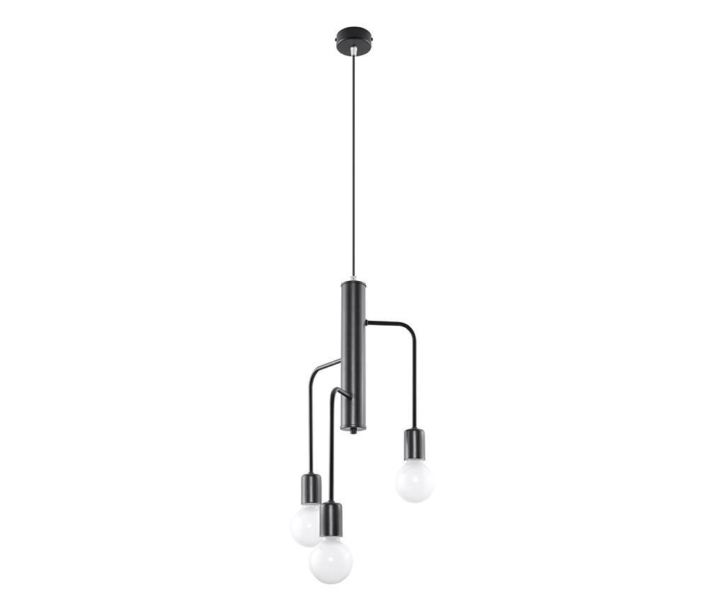 Lustra Donato - Nice Lamps, Gri & Argintiu imagine