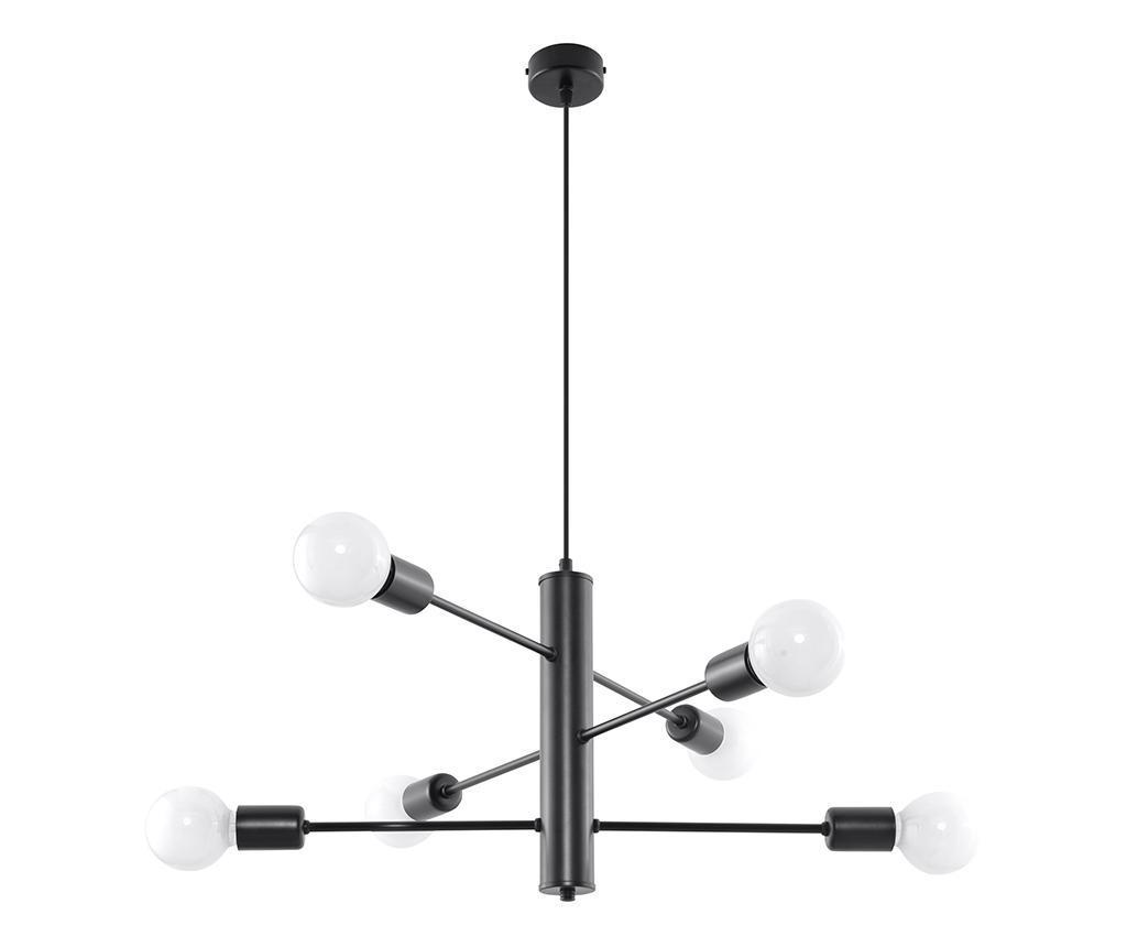 Lustra Donato Fire - Nice Lamps, Gri & Argintiu imagine